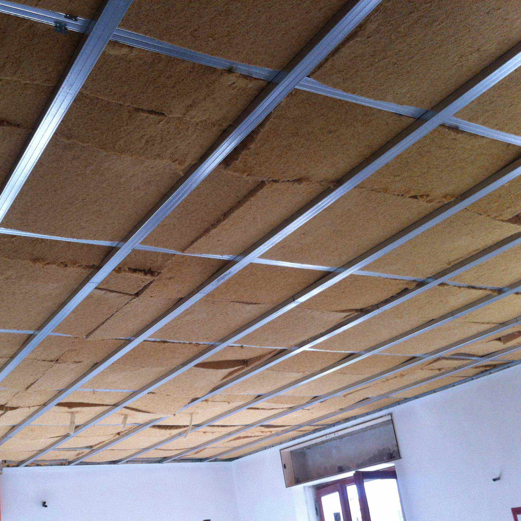 Flexible fiber wood FiberTherm Flex density 60kg/mc ceiling insulation