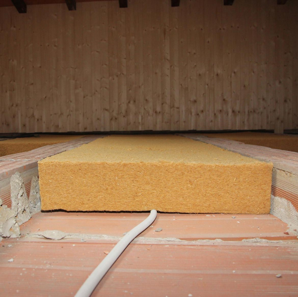 Flexible Fiber Wood FiberTherm Flex density 50kg/mc floor insulation