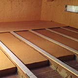 FiberTherm flex flexible Fiber Wood under roof