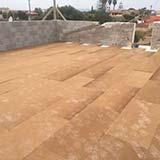 Fibertherm Base Fiber Wood flat roof with density 250