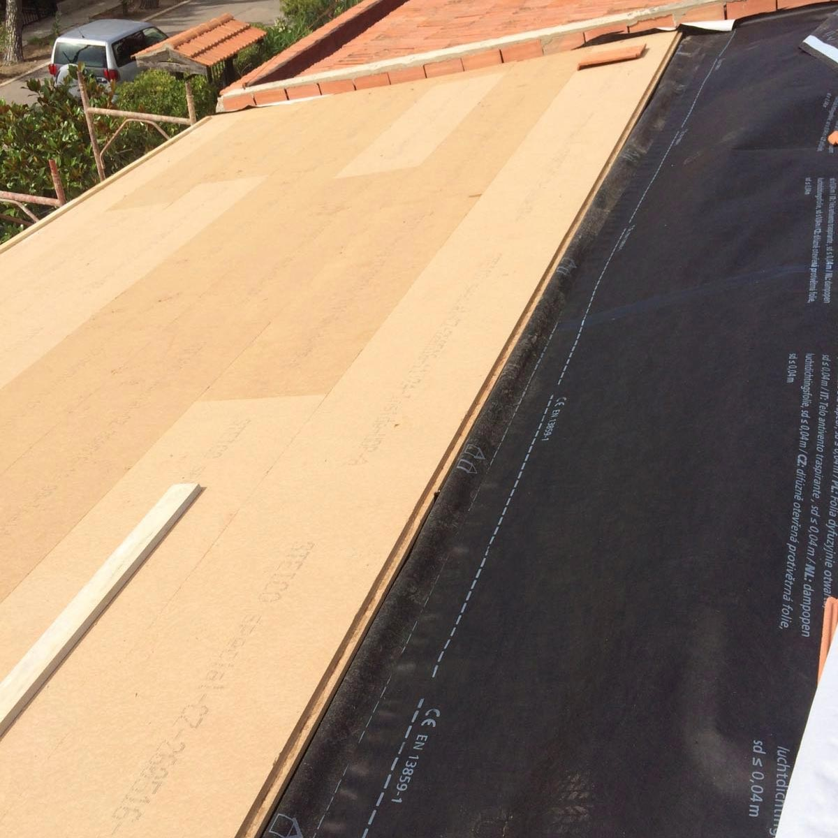 Fiber Wood FiberTherm Special pitched roof insulation
