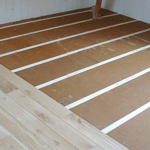 Fiber Wood FiberTherm Floor with thermal and acoustic insulation